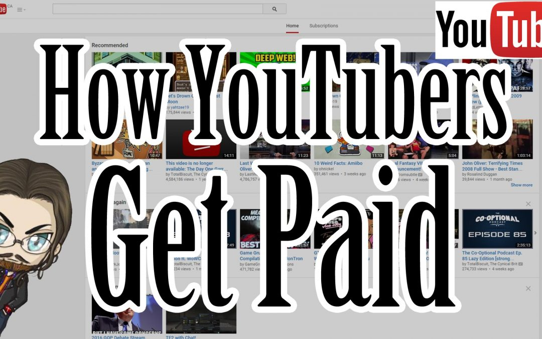 How YouTubers Get Paid! – How To Get Paid on YouTube!